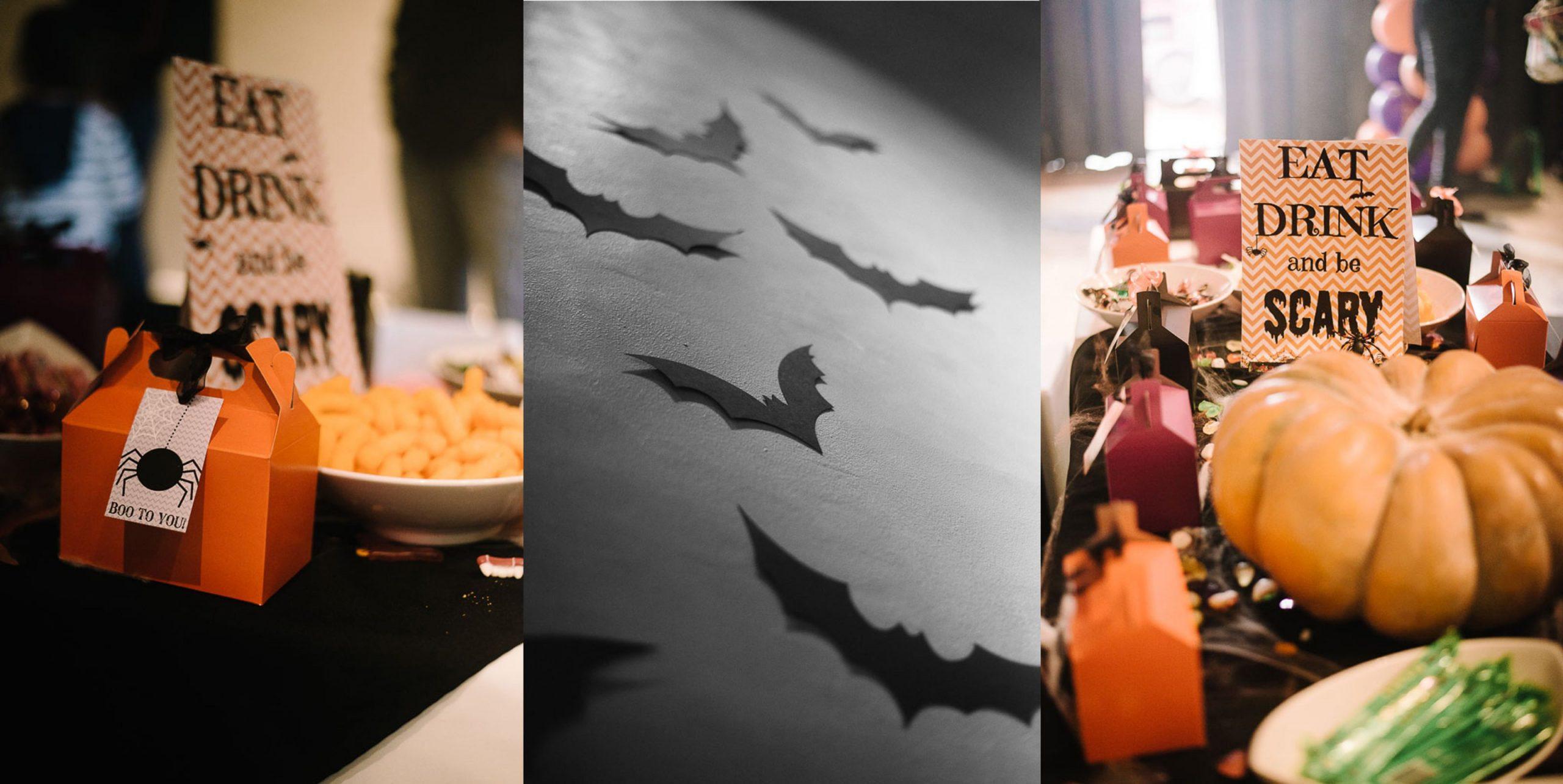 Bazinga Parties Halloween Birthday Party