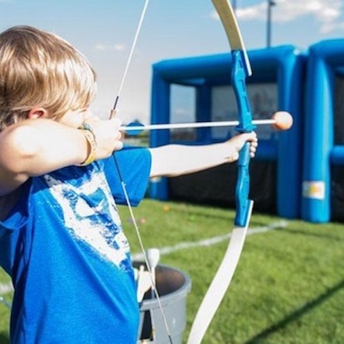 Inflatable Archery Event Entertainment Cape Town Bazinga Parties