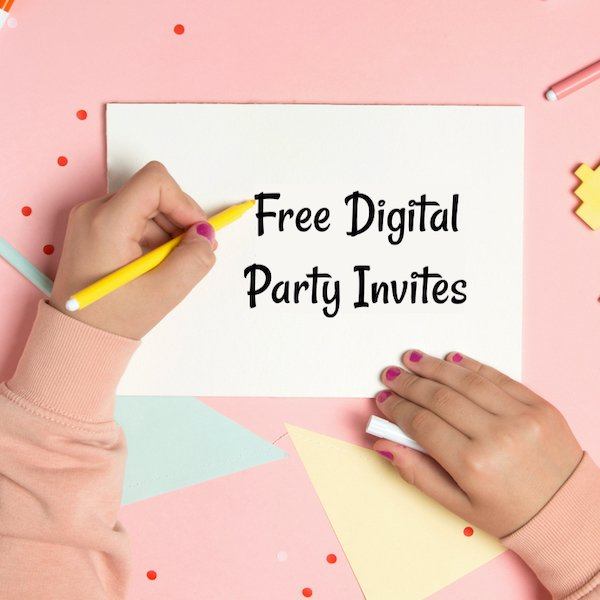 Free Digital Party Invites Cape Town Bazinga Parties