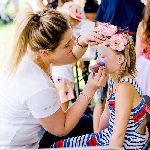 Facepainting Event Entertainment Cape Town Bazinga Parties